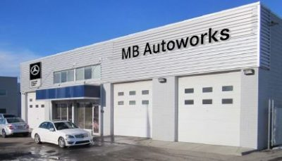 Distinctive Auto Works building rebranded to MB Autoworks